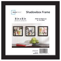 Walmart Mainstays 8x8 Shadow Box Frame Shadow Box Mainstays