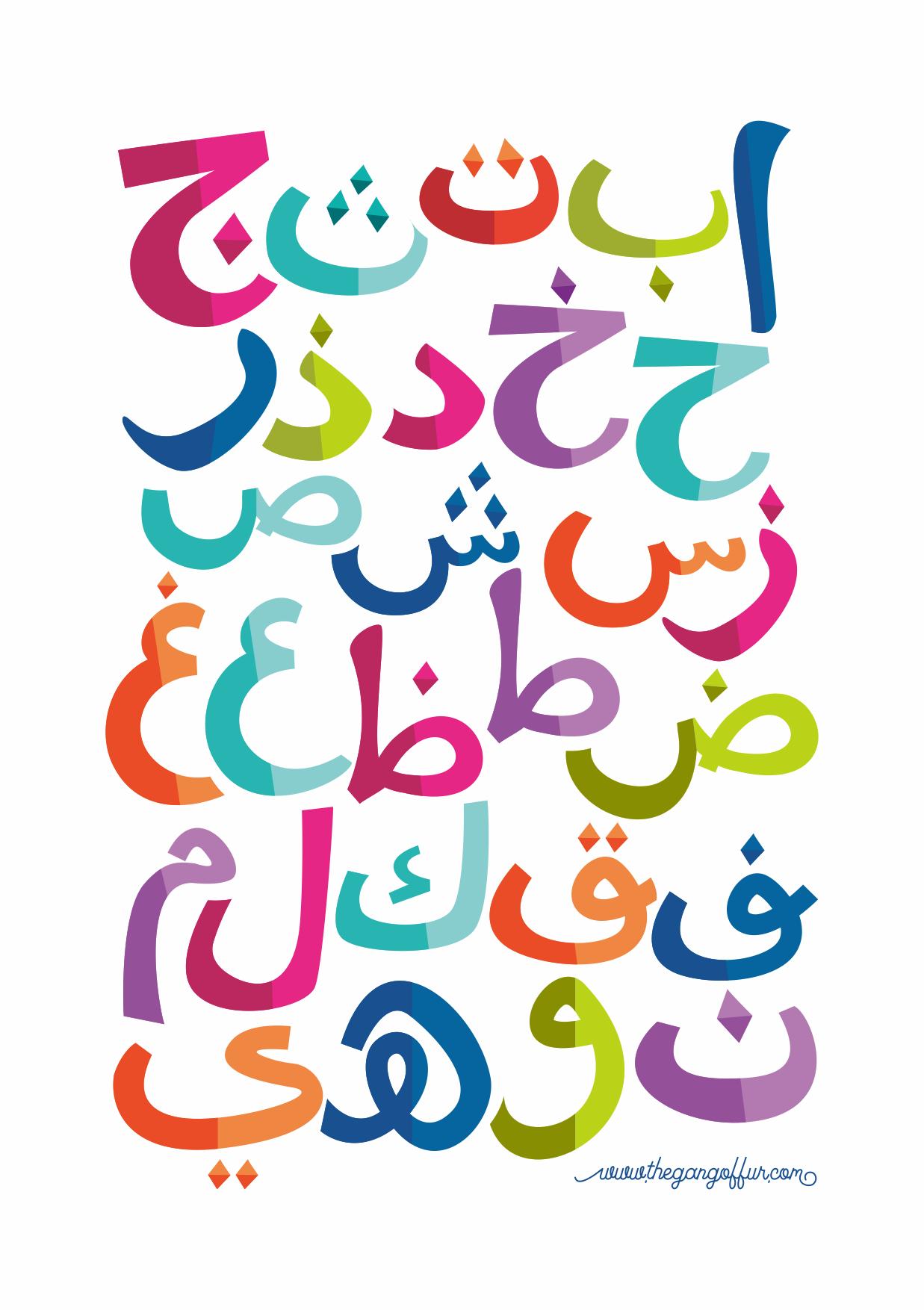 Hijaiyah Poster Printable