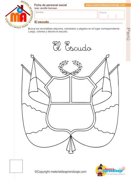 El escudo del Perú y sus partes en 2018   escudo   Pinterest   Peru ...