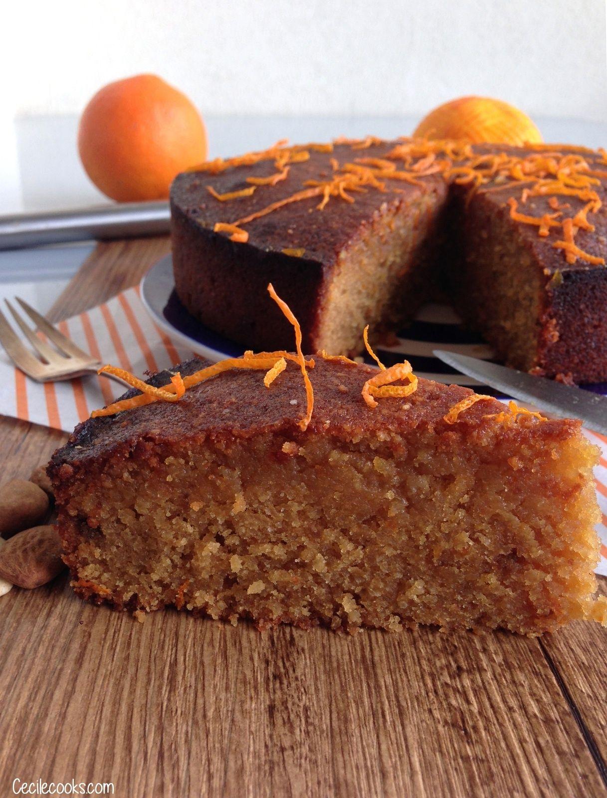 Recettes desserts · Gâteau aux clémentines et aux amandes de Yotam  Ottolenghi