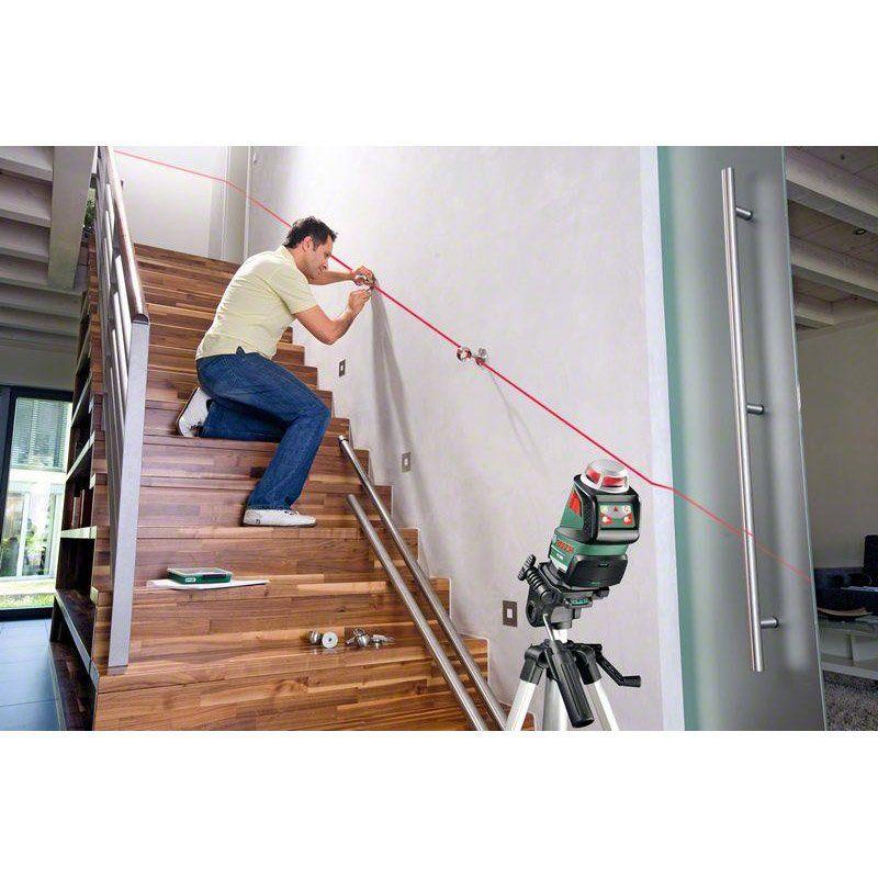 Niveau Laser Rotatif Et Trépied Bosch Pll 360 Set Premium