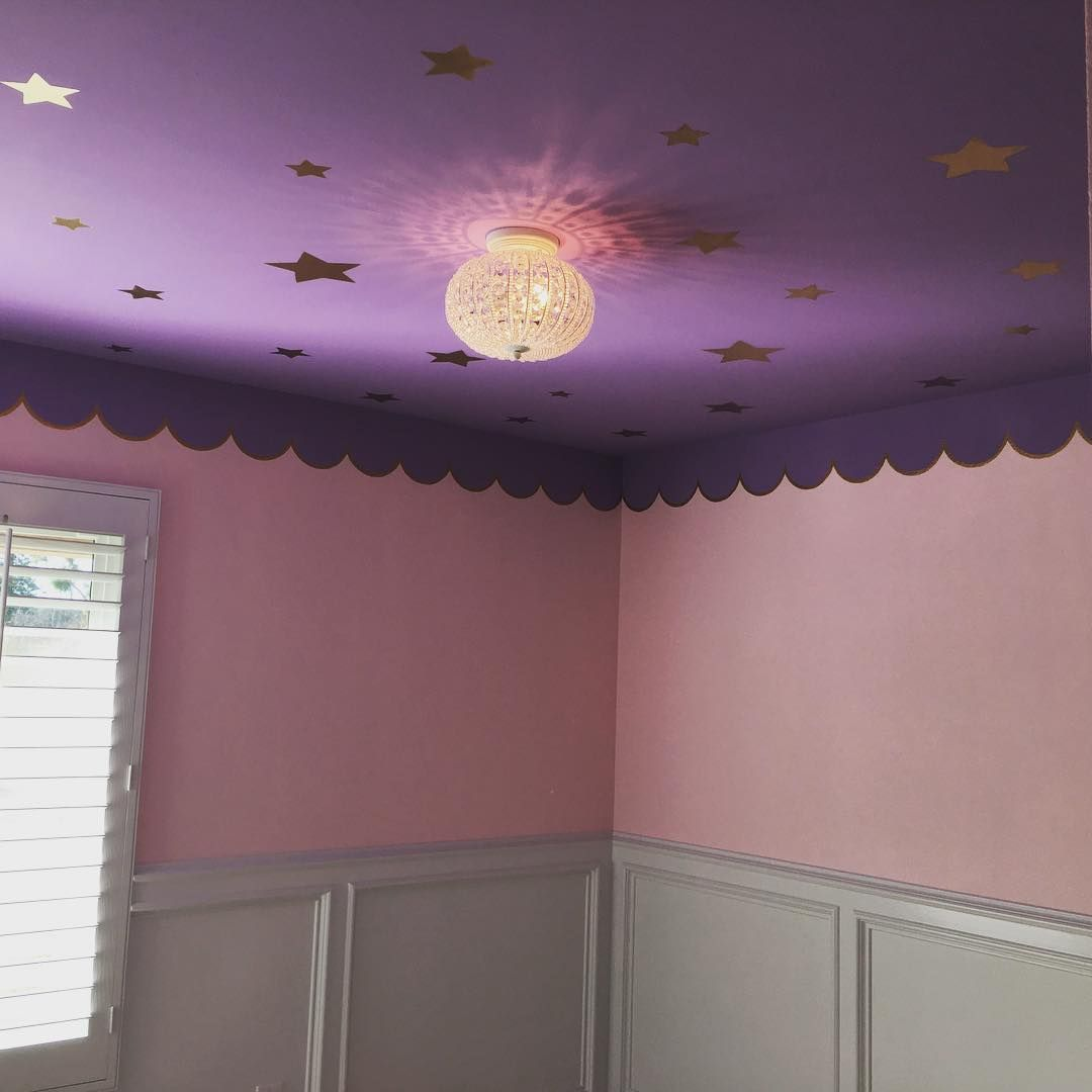 Bedroom Wall Tiles Lavender Colour Bedroom Art For The Bedroom Ceiling Lights For Girl Bedroom: Paint In Baby Girls Room. Toddler Room. Colorful Light