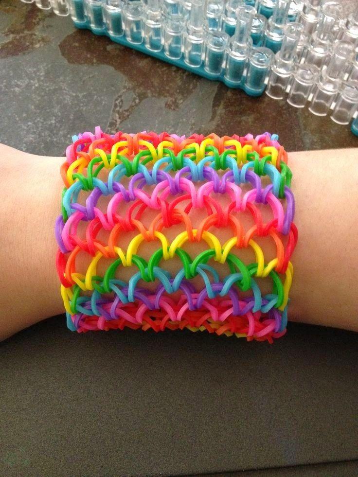 10 Bellesalud La Moda De Las Pulseras De Ligas Elásticos O Gomitas Paso A Paso Rainbow Loom Patterns Rainbow Loom Designs Rainbow Loom Creations