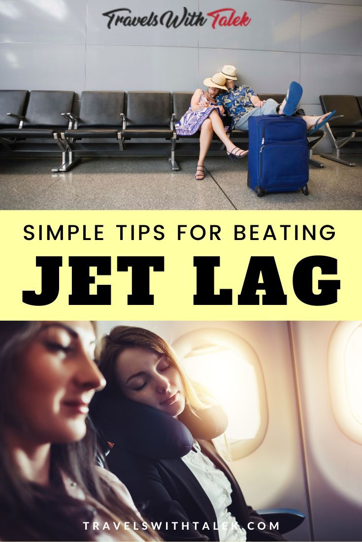 Adopt these top tips and tricks for preventing jet lag as well as recover from it once you've crossed over several time zones so you can recover and have a restful and revitalizing vacation. Learn exactly how to get over jet lag (and avoid it!) on your next trip with these simple jet lag tips provided here. #jetlag #jetlagtips #traveltips #travelhacks #travel