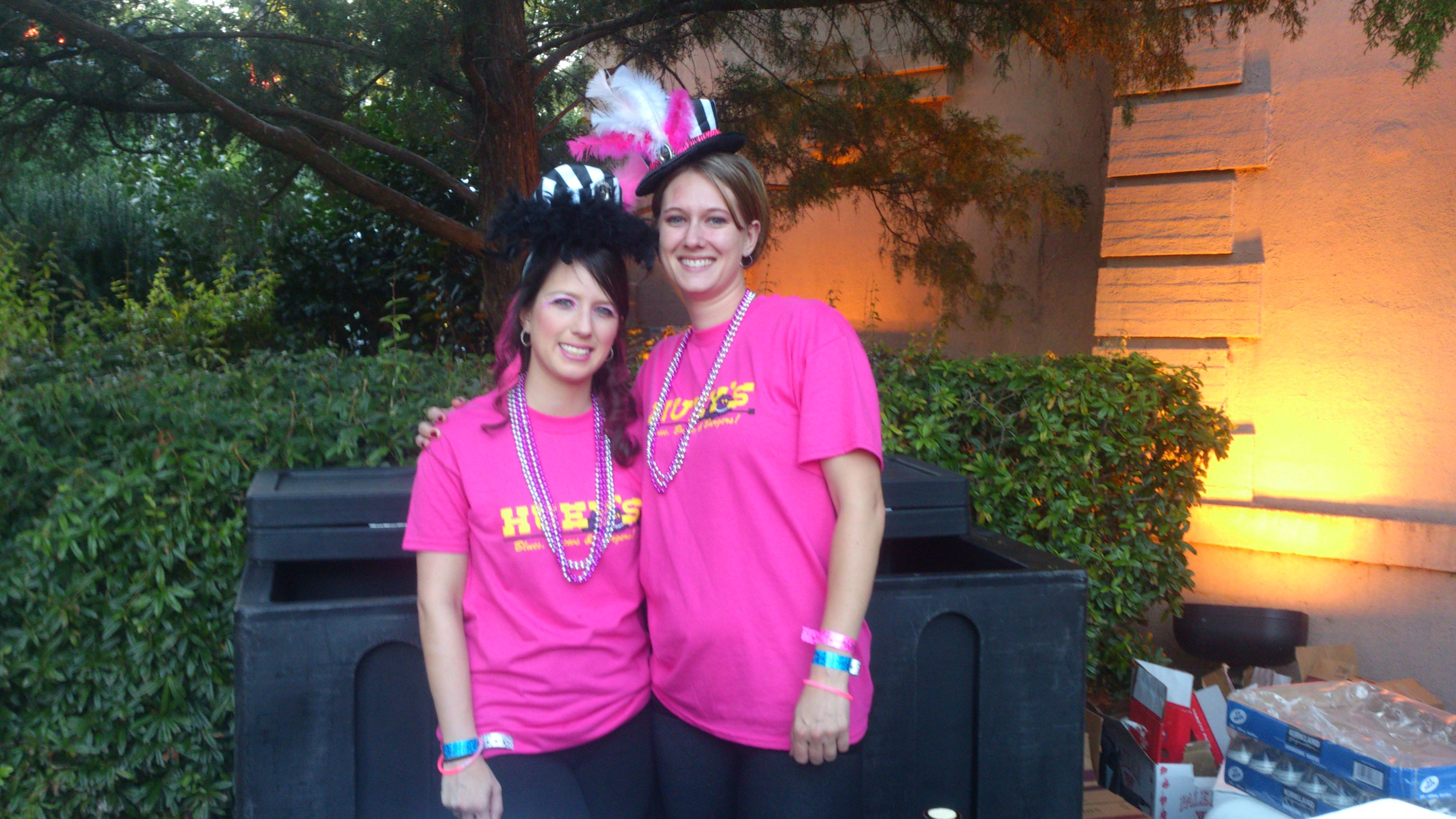 Our awesome volunteers for Bet Against Breast Cancer, benefiting Wings Cancer Foundation on Saturday!