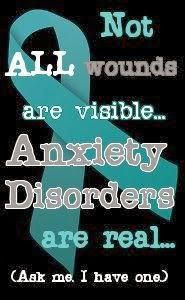 Anxiety Disorder Awareness Panic Life Gave Me This Shit Nobody Asks For It Just Attacks You On A Regular Basis