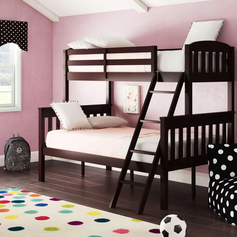 Viv Rae Suzanne Twin Over Full Bunk Bed Wayfair In 2020 Bunk Beds Full Bunk Beds Bed Frame
