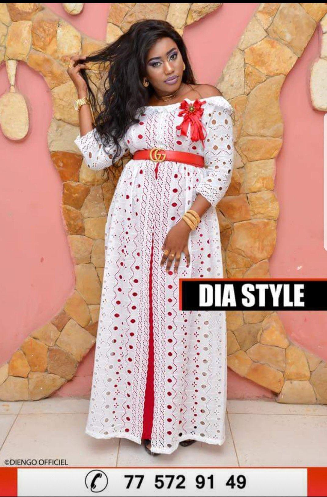 Robe dentelle | Africaine en 2019 | Robe africaine, Robe ...