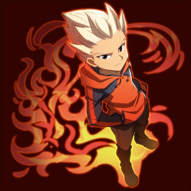 Inazuma eleven - gouenji shuuya