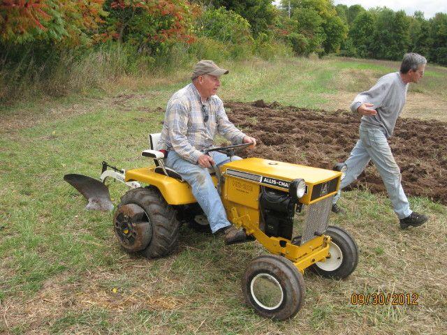 Plow Day Oct 2012 Allis Simplicity Gallery Garden Tractor