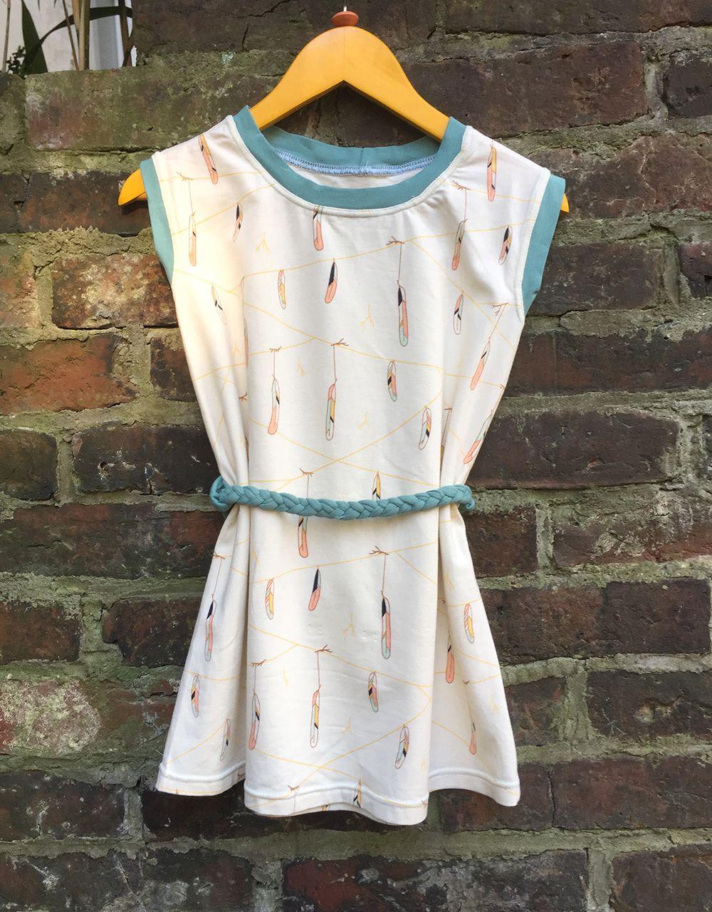 ein einfaches Kleid für Kinder nähen, schlichtes Kleidchen aus ...