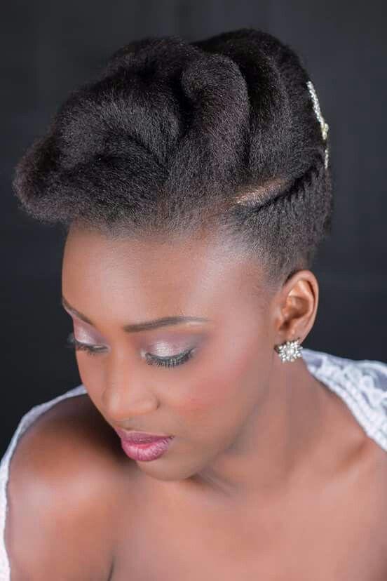 Follow Us Signaturebride On Twitter And On Facebook Signature Bride Magazine Natural Hair Bride Natural Hair Updo Natural Hair Wedding