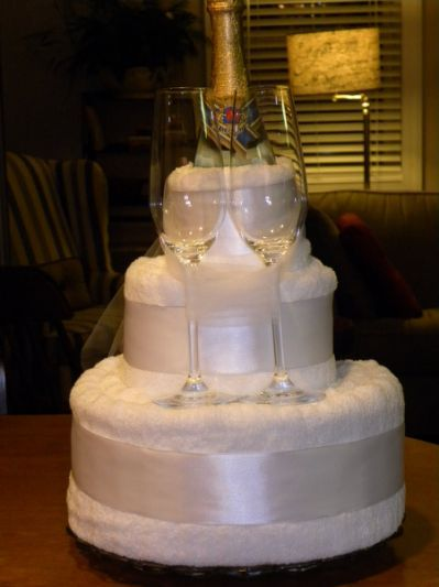towel cake somewhere n thyme
