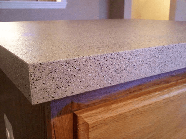 Kitchen Countertop With Stone Spray Paint Colors Diy Countertops