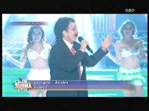 Georgina Barbarrosa es Alcides en tu cara me suena