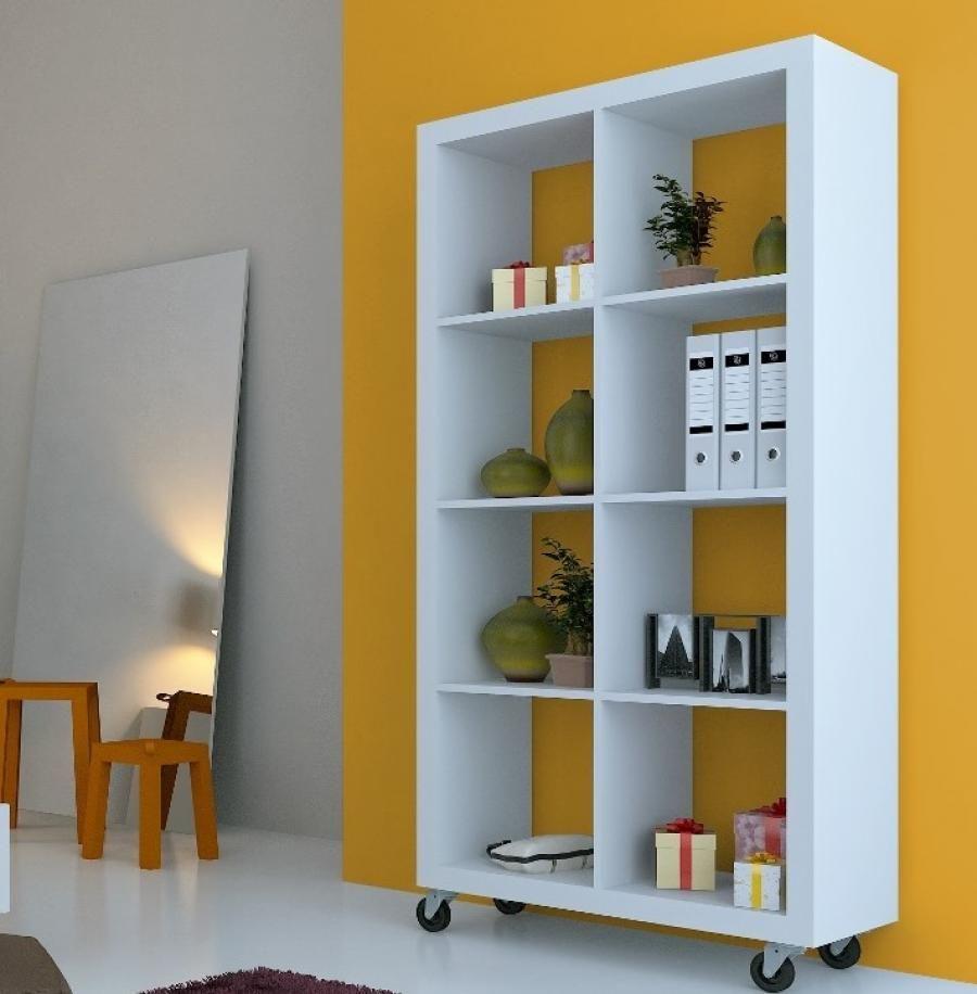 Room Dividers On Wheels Divider Bookshelf
