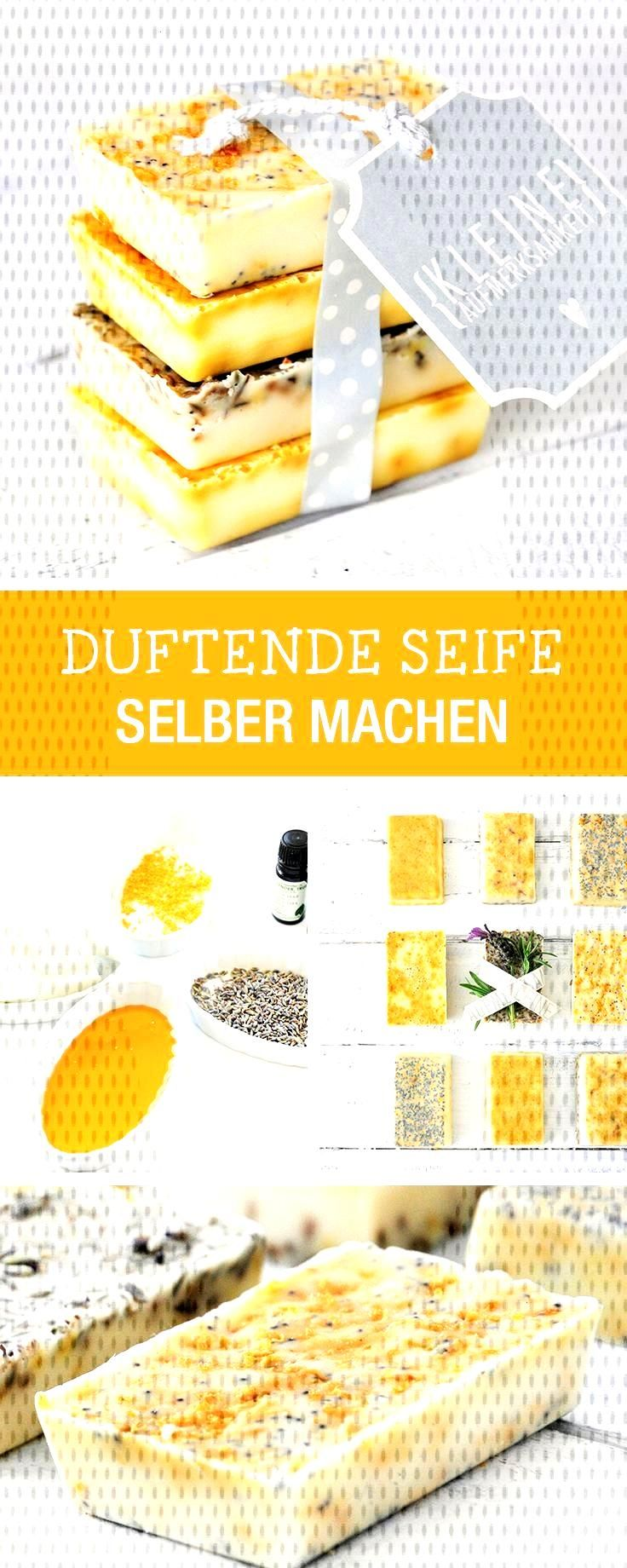 DIY Instructions: Making Scented Soap, Small Gift From Lemon, Lavender ... -  DIY instructions: mak