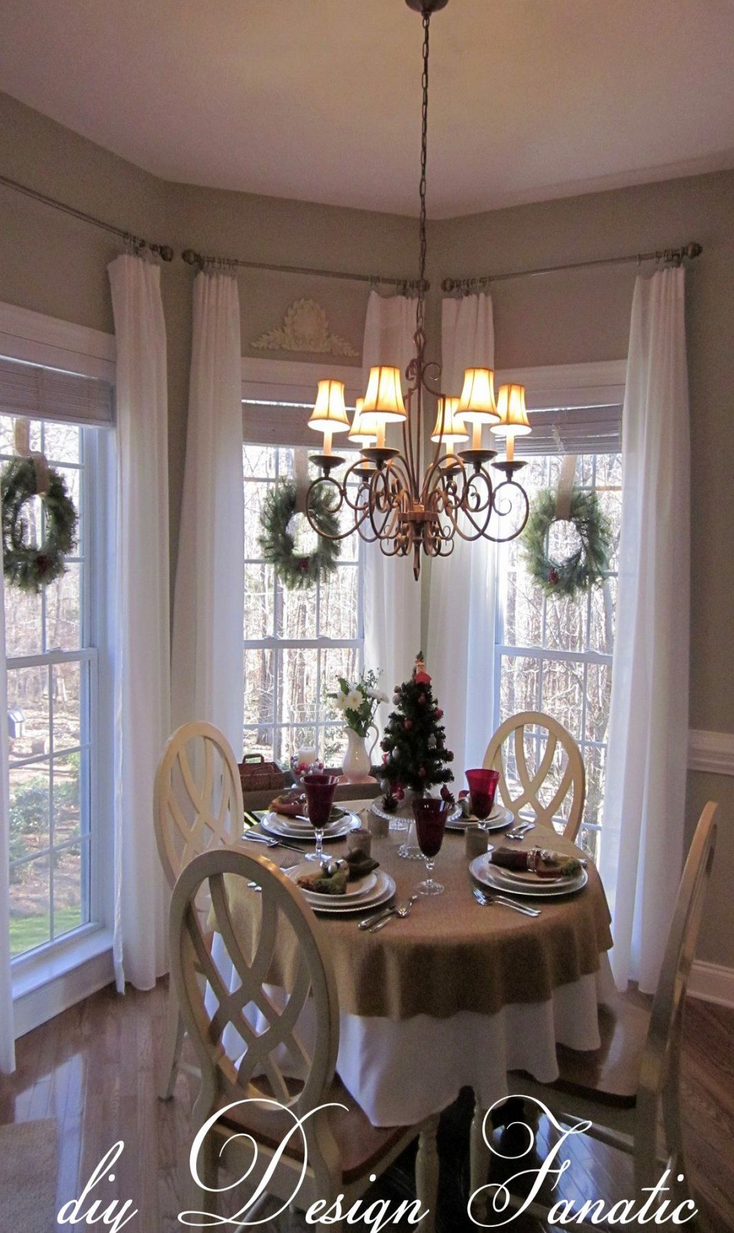 Original Farmhouse Style Window Nook Ideas-merry Christmas ...