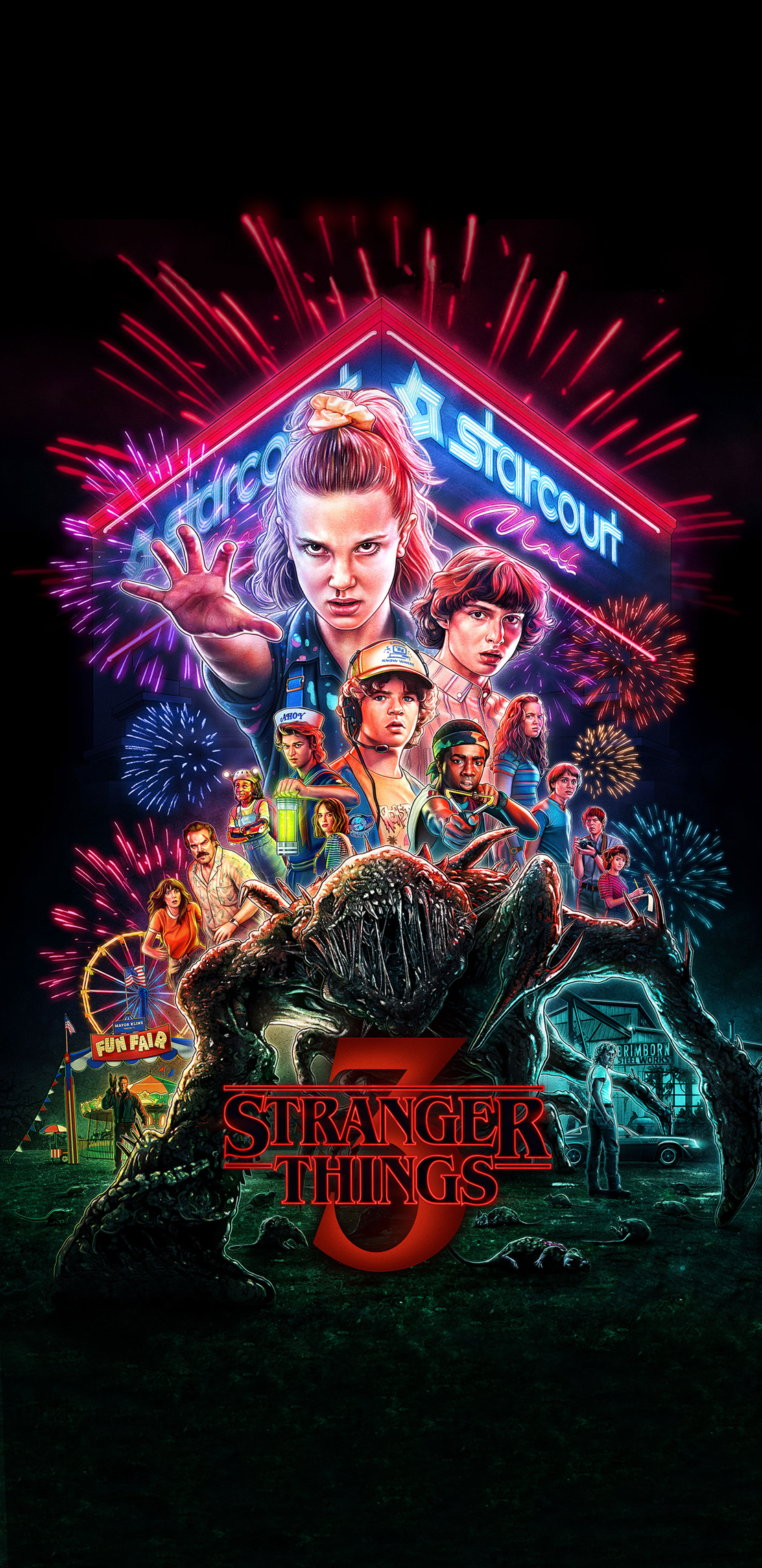 Pin by Emo_garbage on Wallpapers in 2020 Stranger things