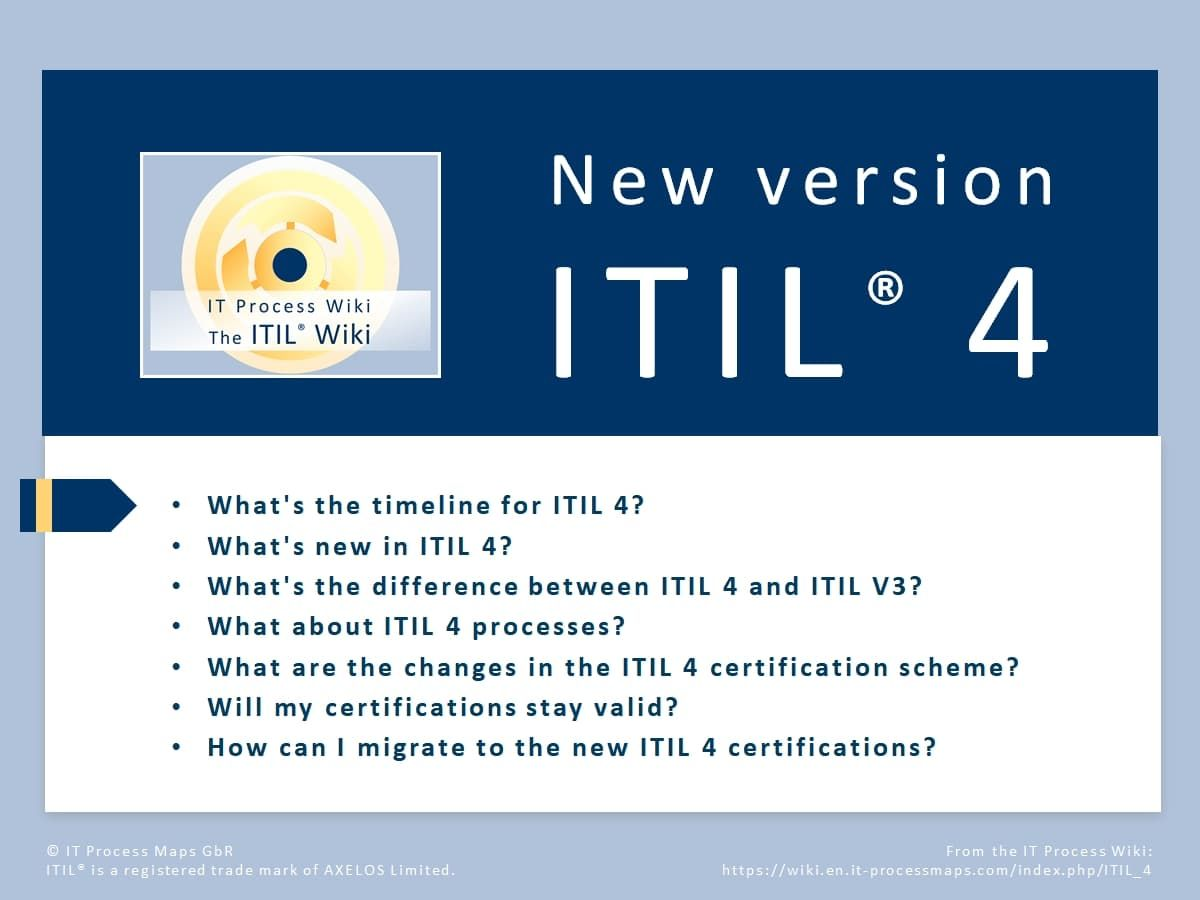 itil 4  resume examples management tips holistic approach