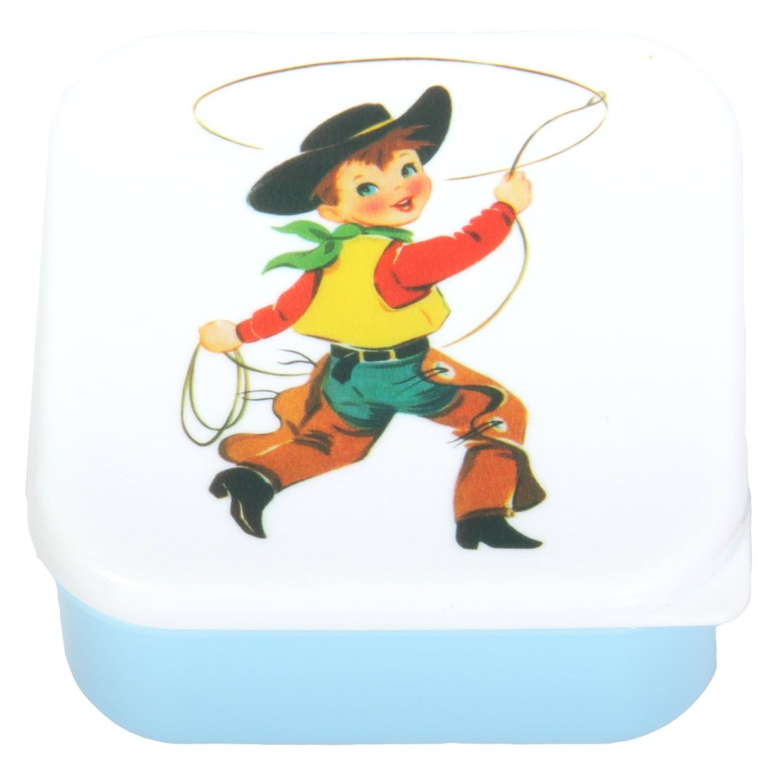 Cracking Cowboy Snack Box.  Great for Will's little toys