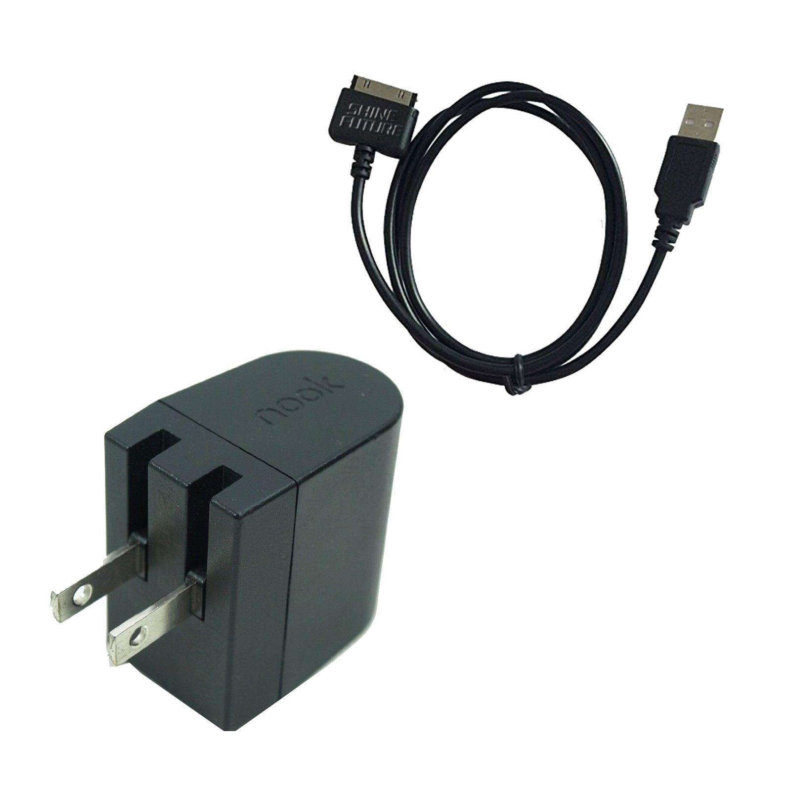 "7//9/"" BNTV400//600 Wall Power Charger Charge Cable For Barnes Nook HD HD"