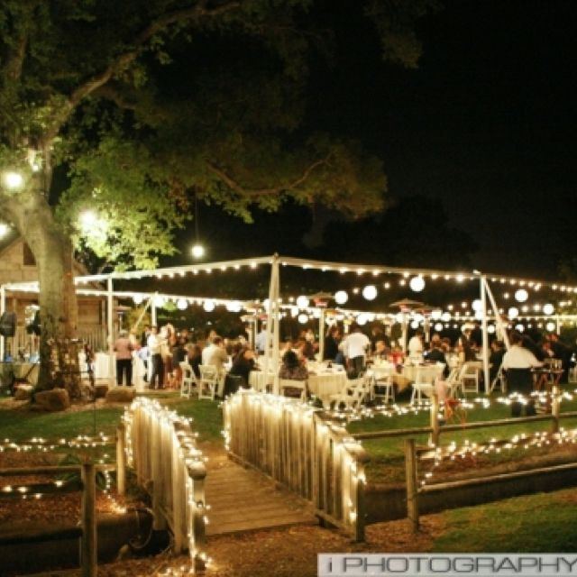 Great Outdoor Party Set-up