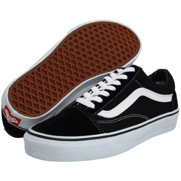 826b9a76574357 Vans Old Skool Core Classics Shoes ( 50) ❤ liked on Polyvore featuring shoes