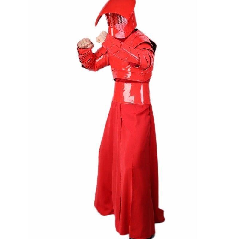 Praetorian Guard Star Wars Last Jedi Fancy Dress Halloween Deluxe Adult Costume
