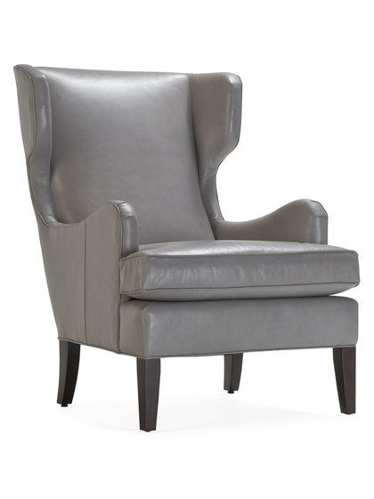 Tobi Leather Wing Chair By Mitchell Gold Bob Williams At Gilt