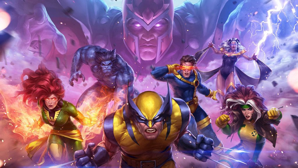 X Men Team Superhero Wolverine Wallpaper Marvel Cómics