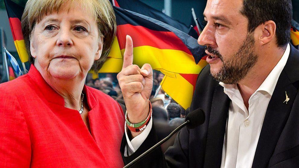 Italien: Merkel organisierte Sturz von Matteo Salvini | Merkel ...