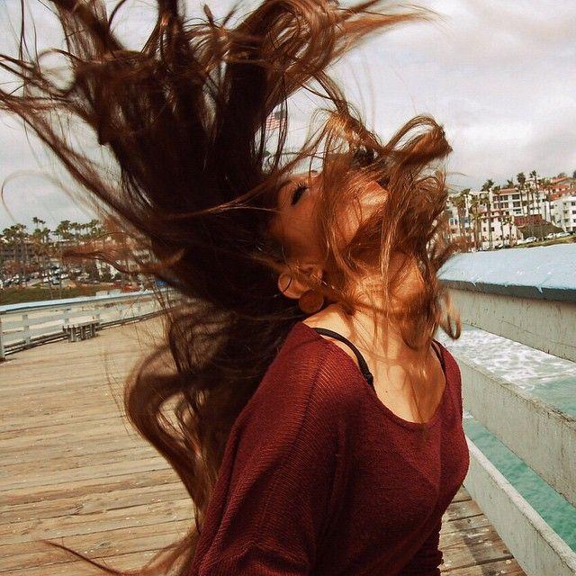 Califoooornia So Gooood Pinterest Wind Hair Hair