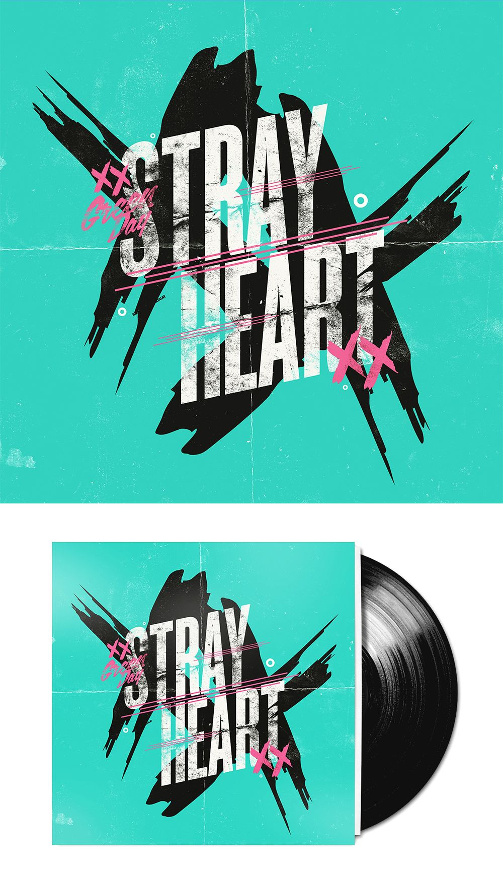 Stray Heart Poster Prints Green Day Cool Bands
