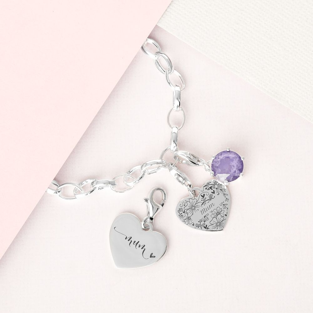 Clip On Personalised Name Charm Sabo Bracelet Choose In