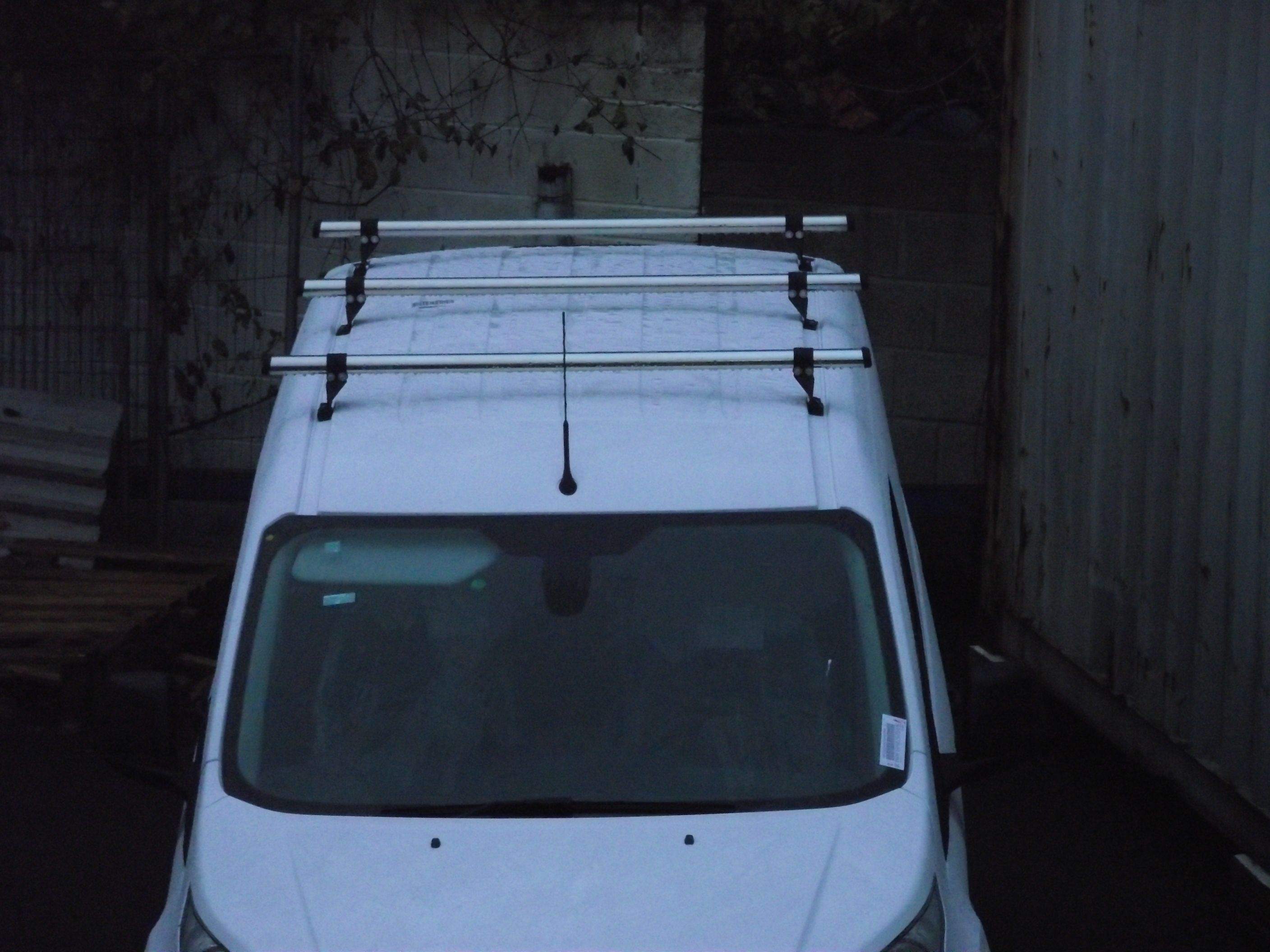 A Rhino 3 Bar Delta Bar System Was Fitted To This Van Visit Www