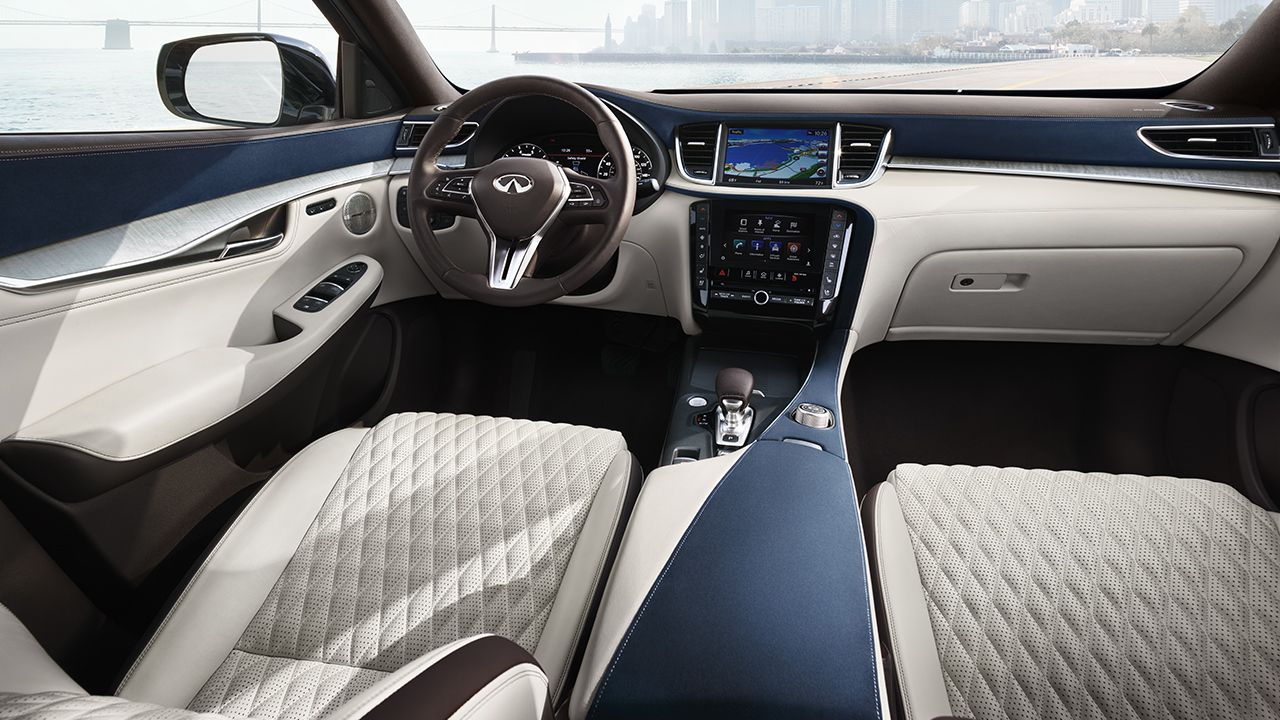 2019 Infiniti Qx50 Interior Front Seating Best Compact Suv Most Reliable Suv Best Suv