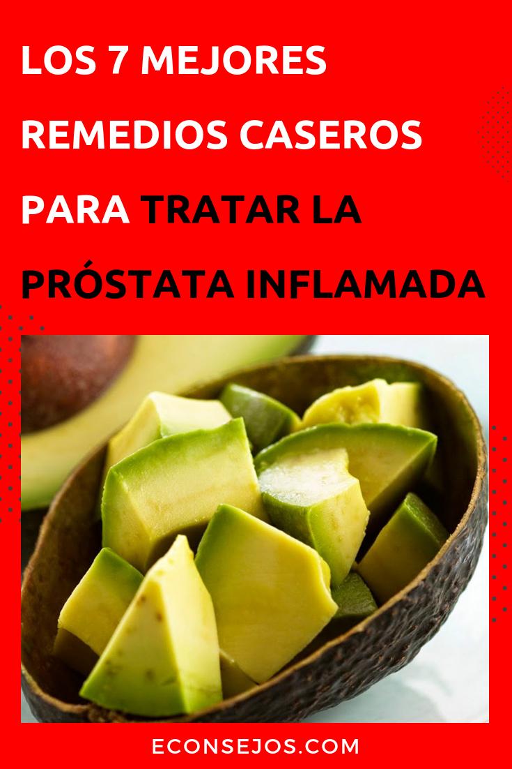 curar la glándula prostática inflamada
