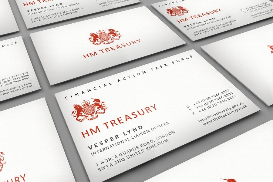 freelance Create a Replica of Business Card From a James Bond Movie ...