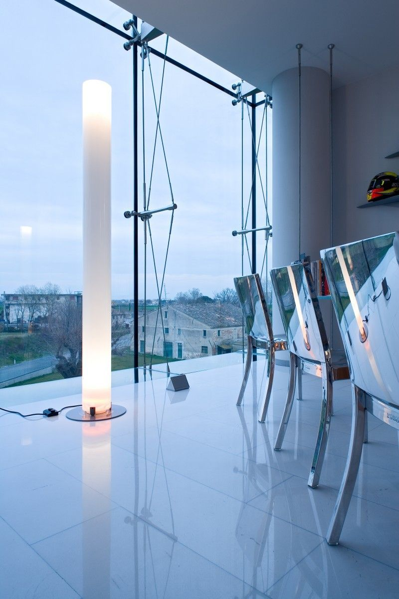 stylos vloerlamp flos moderne staande lampen ontwerpwinkel minimalistische mode winkels interieurontwerp