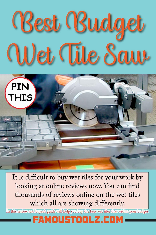 Pin On Diy Wet Tile Saw