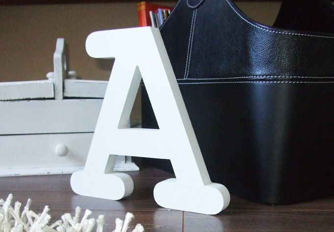 Dekobuchstaben 30 cm Buchstabenhöhe | Kinderzimmer und Geschenk