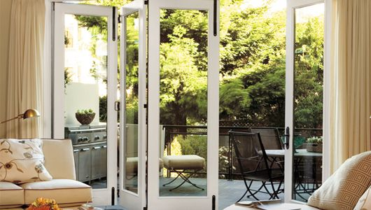 These folding patio doors from Arch Design Window and Door ...