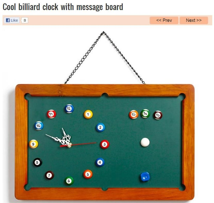 Billiards Message Board Billiards Diy Wall Art Clock