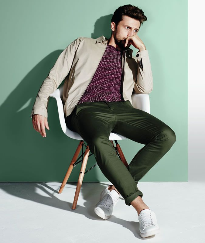 Don't go too bold with your colour choices in Spring