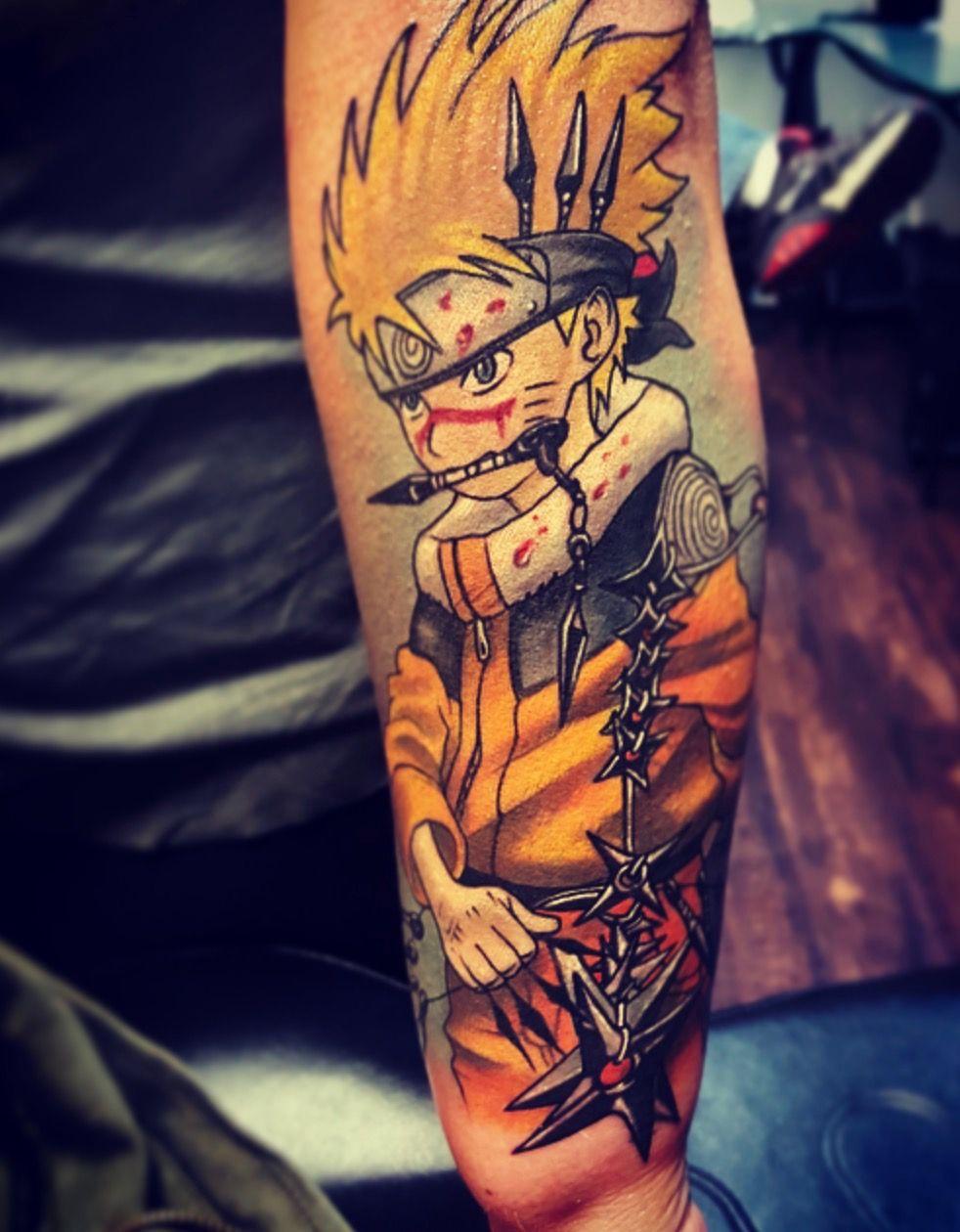My Naruto tattoo.   Naruto tattoo, Tattoo designs men