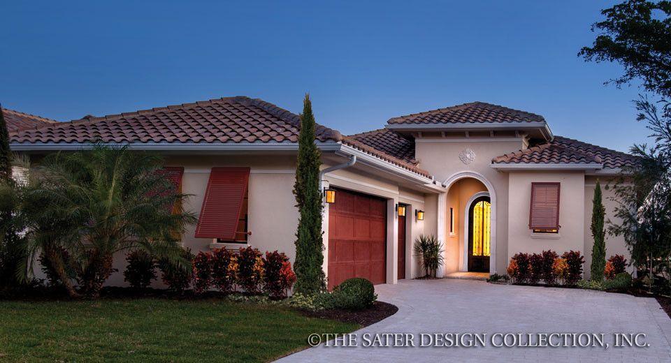 Kelston House Plan Mediterranean Homes Mediterranean House Plans Luxury House Plans