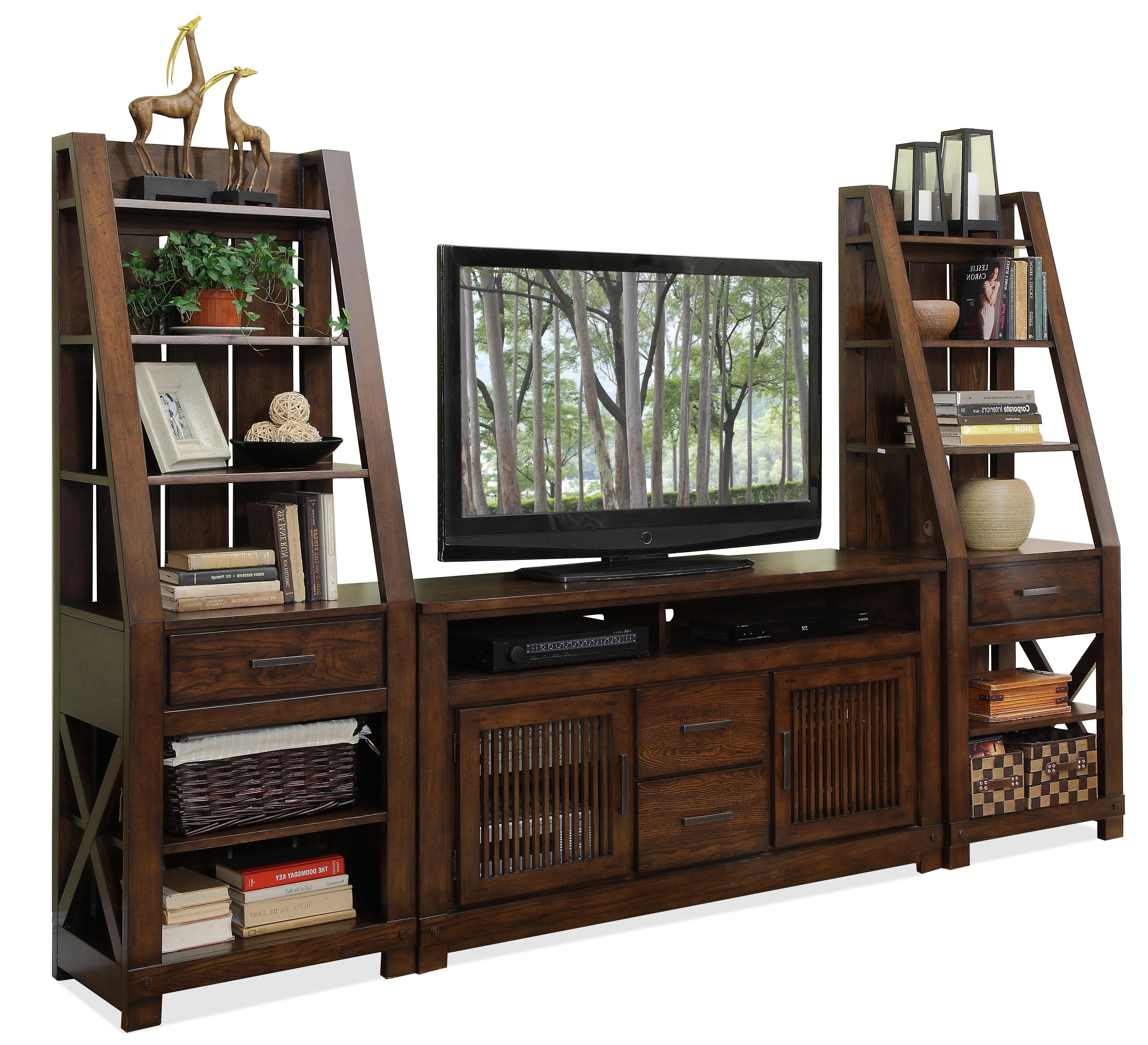 Windridge Entertainment Wall Unit by Riverside Furniture