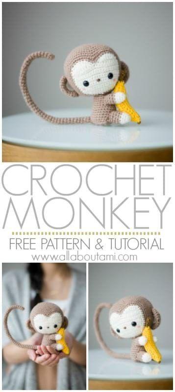 Pattern: Monkey #amigurumifreepattern