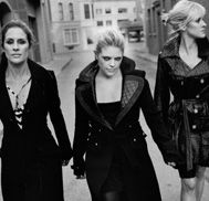 the Dixie Chicks, first concert i ever went to with my mommy. I LOVE THEM! They are bold and have an attitude as big as TEXAS!!!